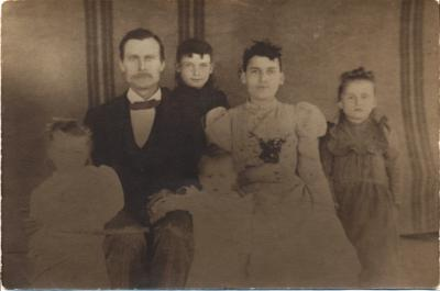 W.P. Ward Jr. and Julia A. Gantt Family c. 1897